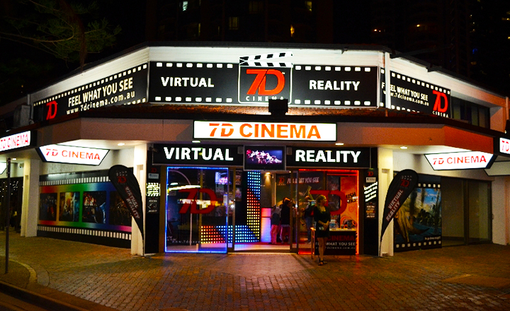 7D Cinema, Surfer Paradise