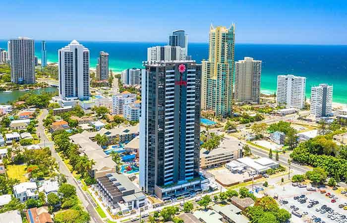 Arise Ruby Gold Coast Location