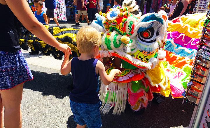 Chinese New Year Celebration at Carrara Markets