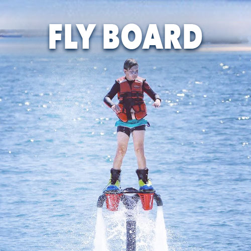 Fly board at Gold Coast Watersports