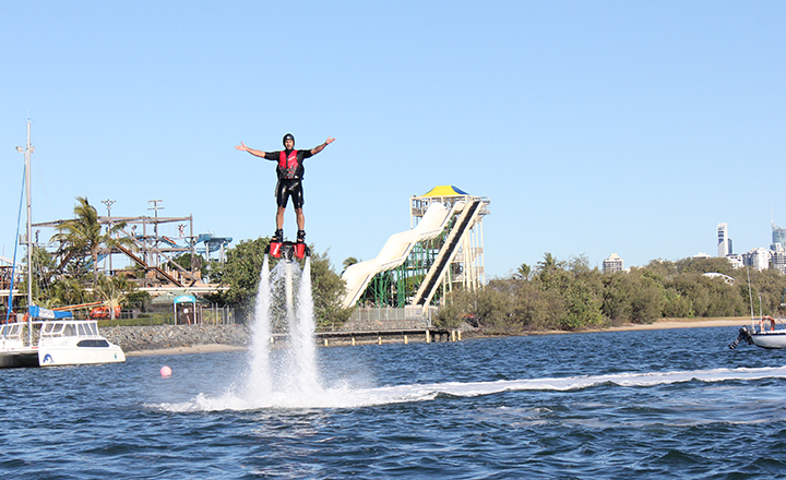 Fly Board Extreme at Gold Coast Watersports