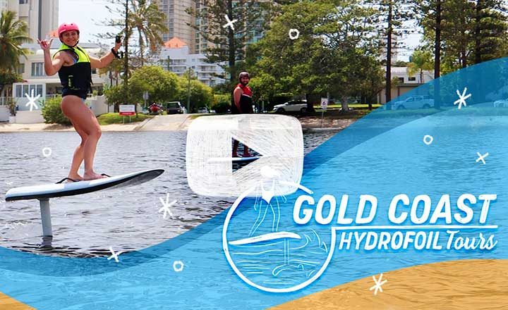 [VIDEO] Flying Above Water With Gold Coast Hydrofoil Tours