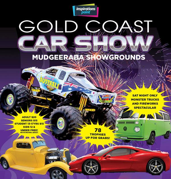 Gold Coast Car Show 2017 at Mudgeerada Showgrounds