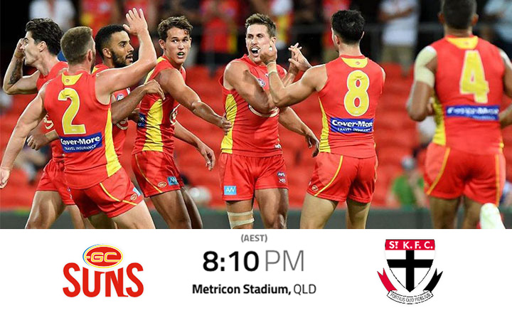Gold Coast SUNS Livestream