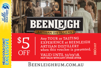 Discount Coupon –Beenleigh Artisan Distillers