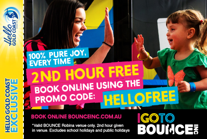 Discount Coupon –BOUNCE Indoor Trampoline Park