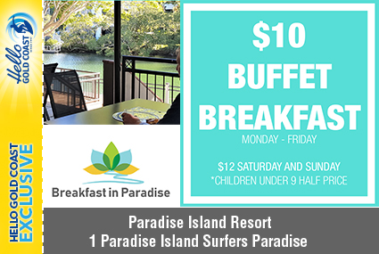 Discount Coupon –Breakfast in Paradise