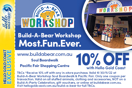 Discount Coupon – Build-A-Bear Workshop