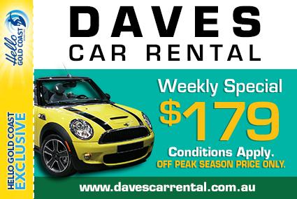 Discount Coupon – Daves Car Rental