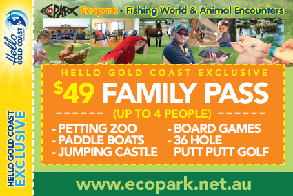 Discount Coupon – EcoPark Fishing World