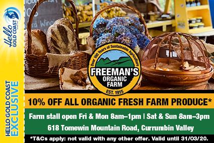 Discount Coupon – Freeman's Organic Farm