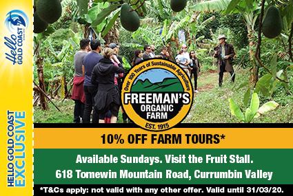 Discount Coupon –Freeman's Organic Farm Tours