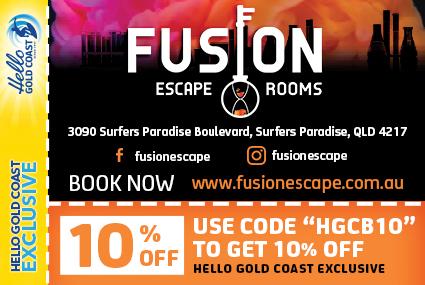 Discount Coupon –Fusion Escape Rooms