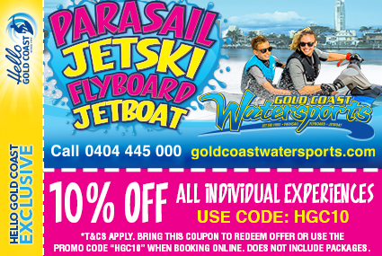 Discount Coupon –Gold Coast Watersports