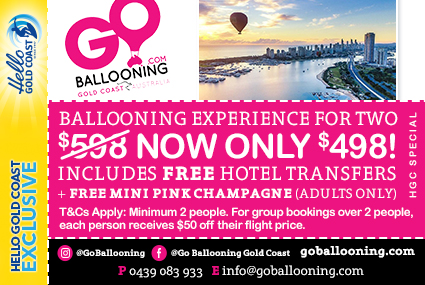 Discount Coupon –Go Ballooning