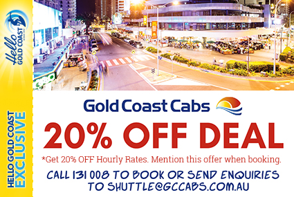 Discount Coupon – Gold Coast Cabs
