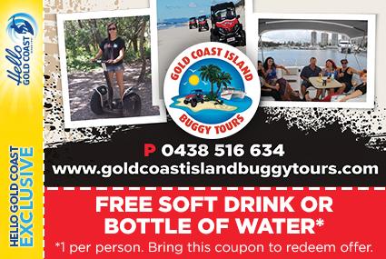 Discount Coupon –Gold Coast Island Buggy Tours