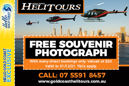 Discount Coupon – Gold Coast Helitours