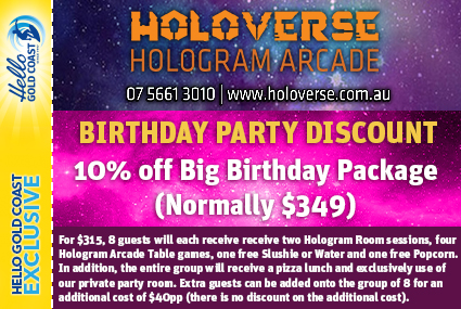 Discount Coupon –Holoverse Birthday Party Package 1