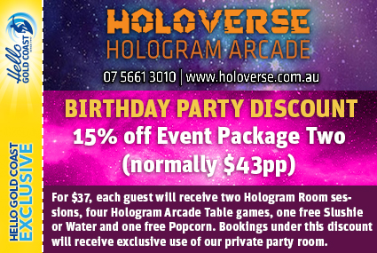 Discount Coupon – Holoverse Birthday Party Package 2