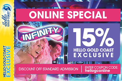 Discount Coupon – Infinity