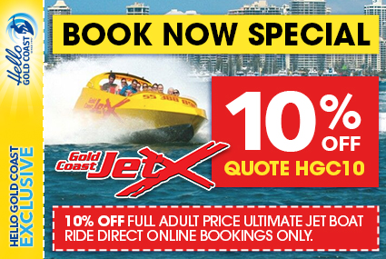 Discount Coupon – Gold Coast Jet X