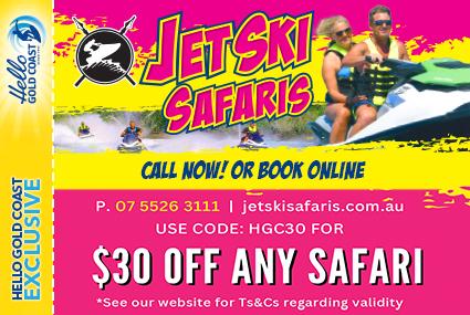Discount Coupon –Jet Ski Safaris