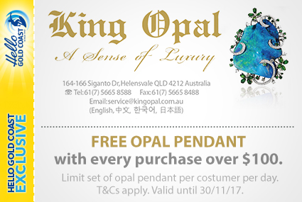 Discount Coupon –King Opal