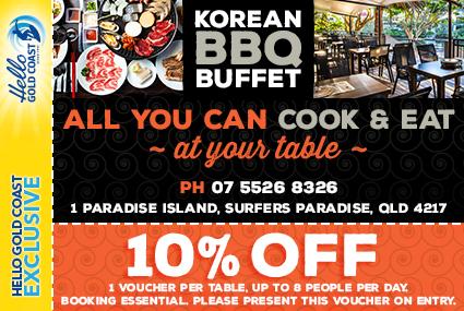 Discount Coupon – Korean BBQ Buffet