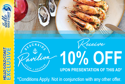 Discount Coupon – Beachside Pavilion