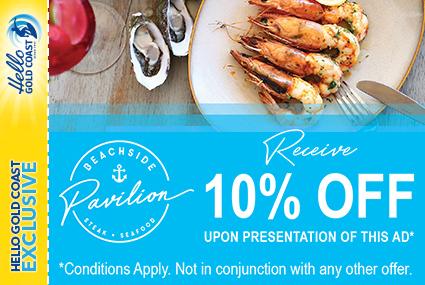 Discount Coupon – Beachside Pavilion