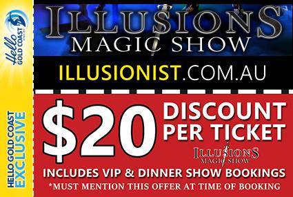 Discount Coupon –Illusions Magic Show