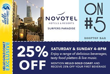 Discount Coupon –Novotel Surfers Paradise