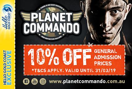Discount Coupon –Planet Commando