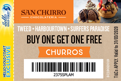 Discount Coupon – San Churro