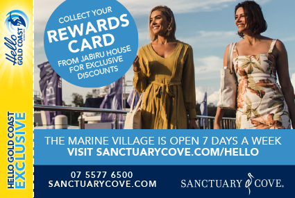 Discount Coupon –Sanctuary Cove