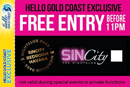 Discount Coupon –SinCity Nightclub