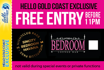 Discount Coupon – The Bedroom Lounge Bar