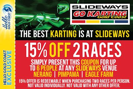 Discount Coupon –Slideways Go Karting