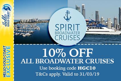 Discount Coupon –Spirit Broadwater Cruises