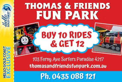 Discount Coupon – Thomas & Friends Fun Park