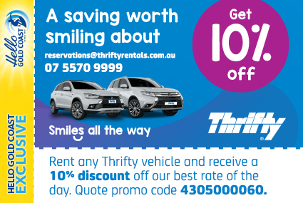 Discount Coupon –Thrifty Car Rental