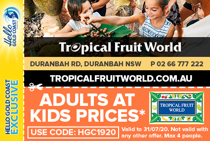 Discount Coupon –Tropical Fruit World