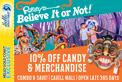 Discount Coupon –Ripley's Believe It or Not!