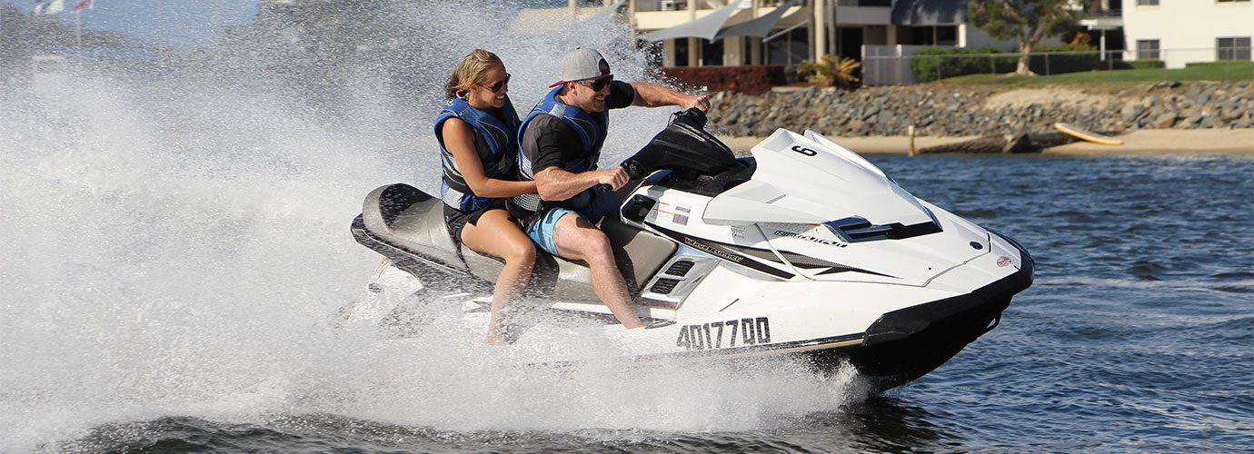 Jet Ski Island Safari at Gold Coast Watersports