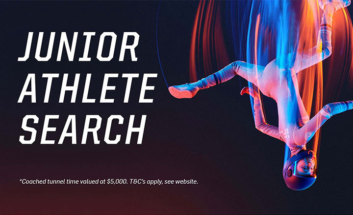 Junior Athlete Search at iFLY