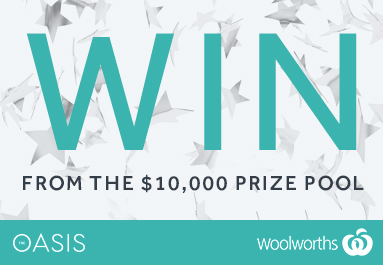 The Oasis $10,000 prize pool