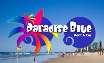 Paradise Blue Rent A Car Hello Gold Coast