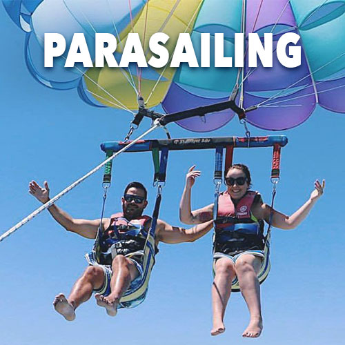 Parasailing at Gold Coast Watersports