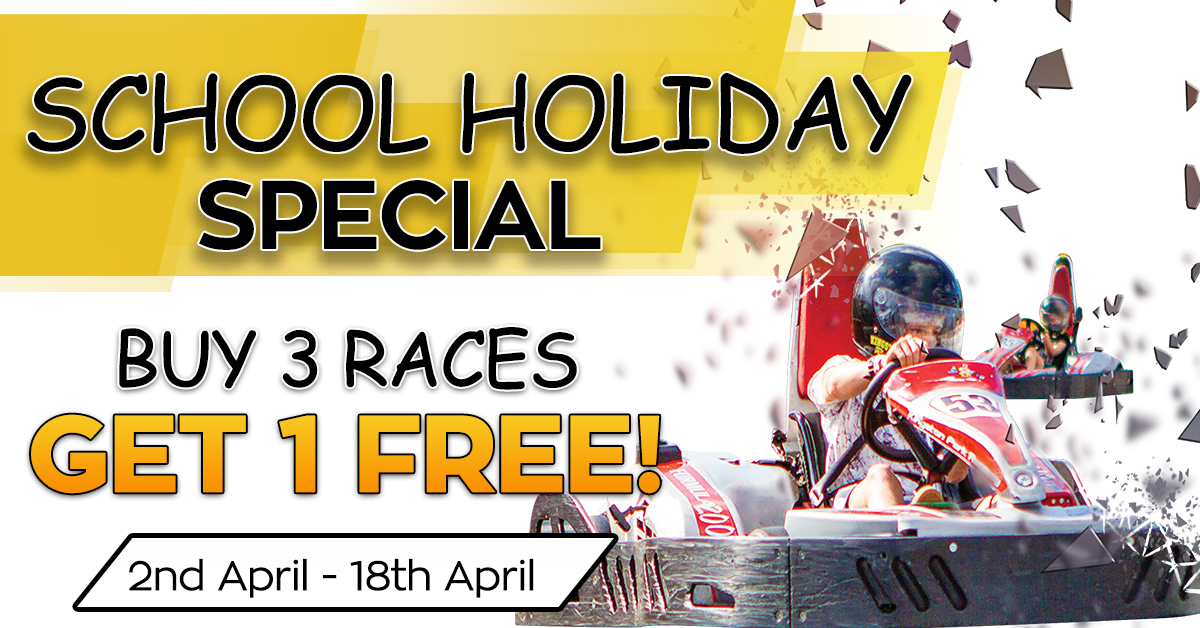 Kingston Park Raceway Buy 3 Get 1 Free